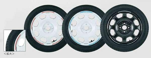 『フレアクロスオーバー』 純正 MS31S ホイールラインデカール 1台分セット パーツ マツダ純正部品 ステッカー シール ワンポイント FLAIR オプション アクセサリー 用品