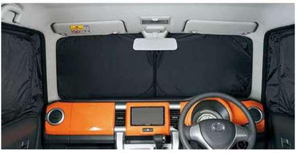 『フレアクロスオーバー』 純正 MS31S フロントプライバシーシェード(メッシュ付) パーツ マツダ純正部品 日除け サンシェード サンシェイド FLAIR オプション アクセサリー 用品