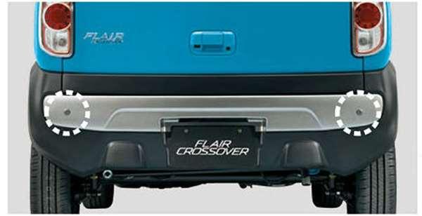 『フレアクロスオーバー』 純正 MS31S コーナーセンサー(リヤ) パーツ マツダ純正部品 危険通知 接触防止 障害物 FLAIR オプション アクセサリー 用品
