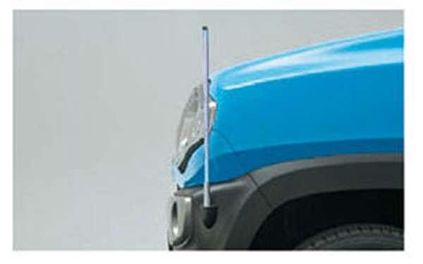 『フレアクロスオーバー』 純正 MS31S コーナーポール(固定式) パーツ マツダ純正部品 フェンダーポール フェンダーライト 障害物 FLAIR オプション アクセサリー 用品