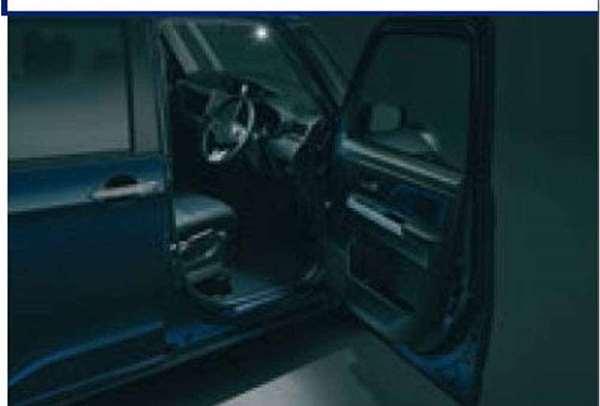 『ジャスティ』 純正 M900F M910F エントリーライト パーツ スバル純正部品 オプション アクセサリー 用品