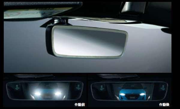 『S600』 純正 JW5 オートデイナイトミラー(フレームレス仕様)本体のみ ※取付アタッチメントは別売 パーツ ホンダ純正部品 オプション アクセサリー 用品