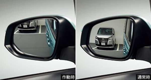 『ノア』 純正 APXGB リバース連動ミラー ※ミラー本体ではありません パーツ トヨタ純正部品 バック 自動 安全確認 noa オプション アクセサリー 用品