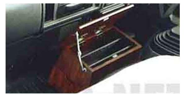 『アトラス』 純正 AKR81 AKR82 フロアボックス(木目調) パーツ 日産純正部品 atlus オプション アクセサリー 用品