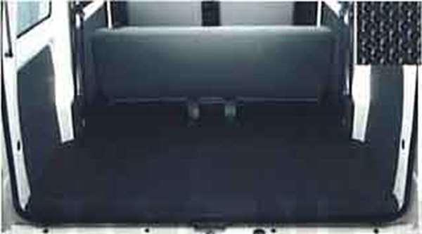 『クリッパートラック』 純正 U71T PU72T 荷室マット/後席付車用 KMWC0 パーツ 日産純正部品 ラゲッジマット ラゲージマット 滑り止め CLIPPER オプション アクセサリー 用品