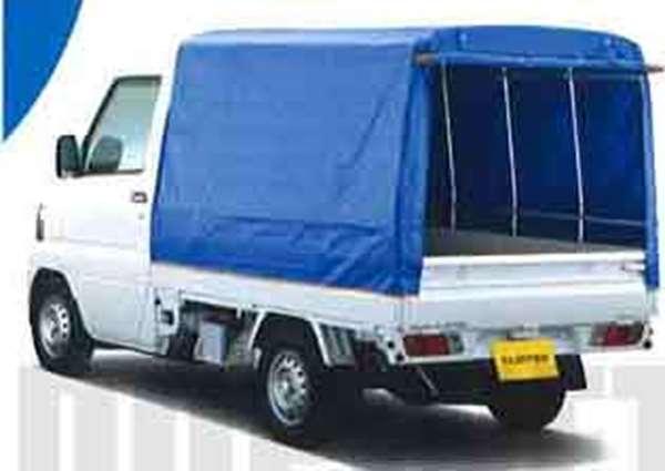 『クリッパートラック』 純正 U71T PU72T 幌(一方開:ターポリン+スチールパイプ製) パーツ 日産純正部品 ホロ トラック幌 CLIPPER オプション アクセサリー 用品