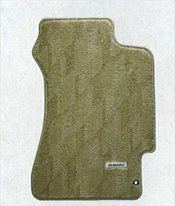 『インプレッサ』 純正 GG2 GG3 GD2 GD3 カーペットマット(カジュアル・ベージュ) パーツ スバル純正部品 フロアカーペット カーマット カーペットマット impreza オプション アクセサリー 用品