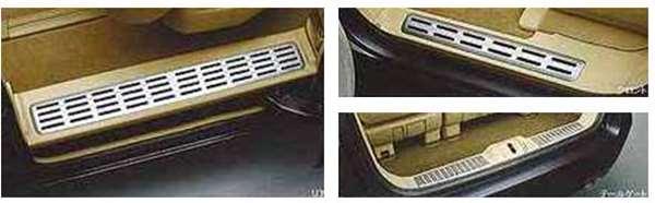 『エリシオン』 純正 RR1 ガーニッシュカバー フロント左右/リア左右/テールゲート部の5点セット パーツ ホンダ純正部品 elysion オプション アクセサリー 用品