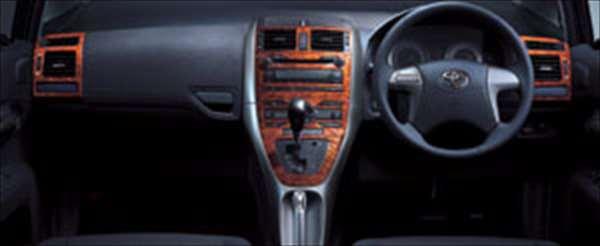 『ブレイド』 純正 AZE156 AZE154 GRE156 ウッド調パネル パーツ トヨタ純正部品 内装パネル センターパネル オーディオパネル blade オプション アクセサリー 用品
