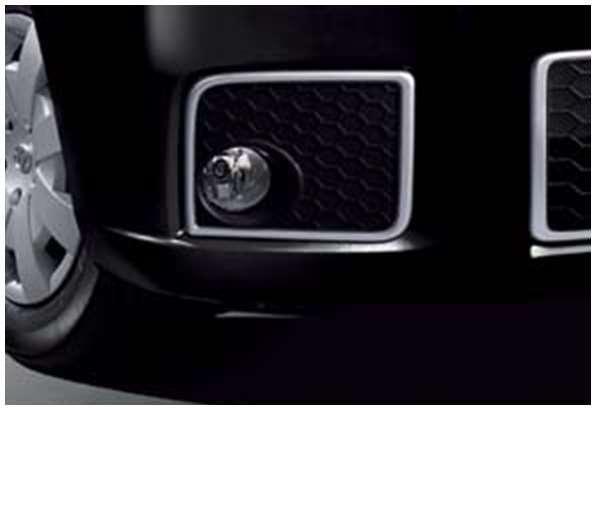 『カローラルミオン』 純正 ZRE152 ZRE151 ZRE154 フォグランプガーニッシュ パーツ トヨタ純正部品 フォグライト 補助灯 霧灯 RUMION オプション アクセサリー 用品