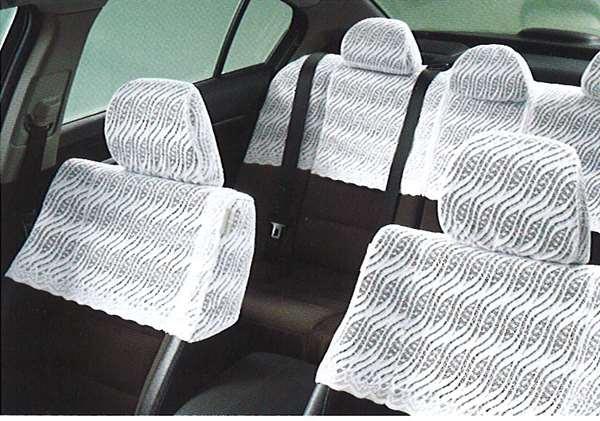 『インスパイア』 純正 DBA-CP3 ハーフシートカバー パーツ ホンダ純正部品 座席カバー 汚れ シート保護 inspire オプション アクセサリー 用品
