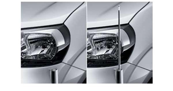 『ポルテ』 純正 NSP141 NCP145 NSP141 フェンダーランプ 電動リモコン伸縮式(フロントオート) パーツ トヨタ純正部品 ポール フェンダーライト porte オプション アクセサリー 用品
