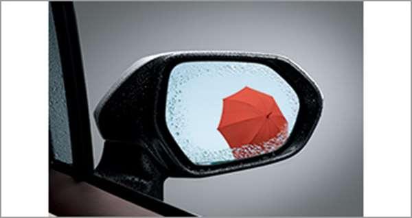 『ポルテ』 純正 NSP141 NCP145 NSP141 レインクリアリングブルーミラー パーツ トヨタ純正部品 porte オプション アクセサリー 用品