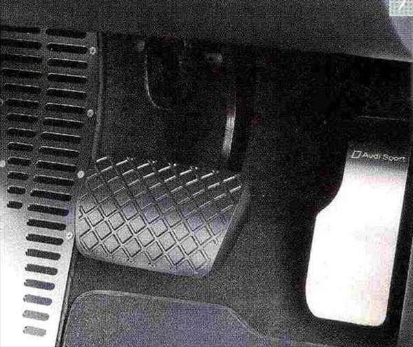 A5・S5 パーツ アクセルペダルカバー(右ハンドル車用) アウディ純正部品 8TCDNF 8TCGWL オプション アクセサリー 用品 純正 ステアリング