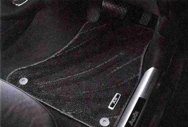 A5・S5 パーツ フロアマット コンフォート ブラック アウディ純正部品 8TCDNF 8TCGWL オプション アクセサリー 用品 純正 マット 送料無料