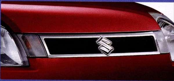 『アルト』 純正 HA24S フロントグリル パーツ スズキ純正部品 メッキ 飾り カスタム エアロ alto オプション アクセサリー 用品
