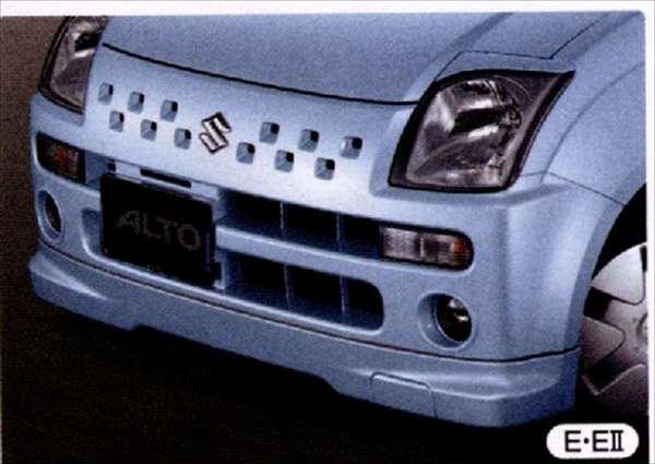 『アルト』 純正 HA24S フロントアンダースポイラー パーツ スズキ純正部品 フロントスポイラー カスタム エアロ alto オプション アクセサリー 用品