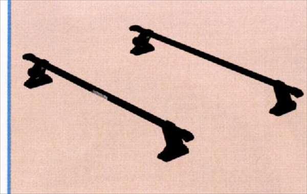 『アルト』 純正 HA24S ベースキャリア パーツ スズキ純正部品 キャリアベース ルーフキャリア alto オプション アクセサリー 用品