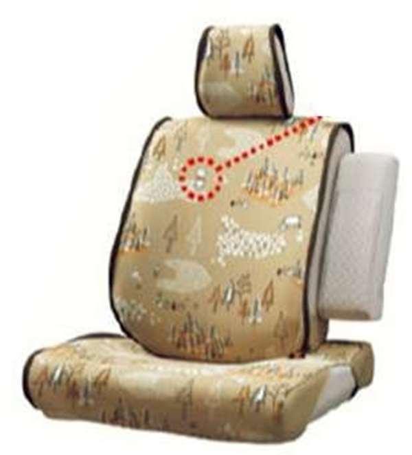 『ムーヴ』 純正 LA150S LA160S 簡単脱着&洗えるシートクロス(くまのプーさん) パーツ ダイハツ純正部品 シートエプロン シートカバー オプション アクセサリー 用品