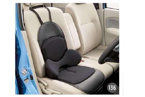 『ムーヴ』 純正 LA150S LA160S ランバーサポートクッション(シートエプロンタイプ) パーツ ダイハツ純正部品 汚れから保護 セミシートカバー オプション アクセサリー 用品