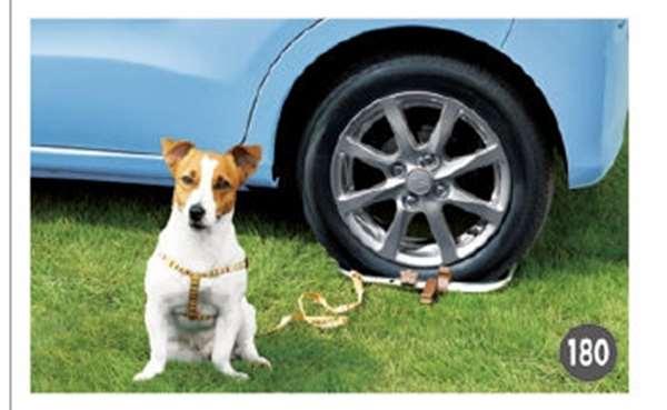 『ムーヴ』 純正 LA150S LA160S リードフック(車両タイヤ装着タイプ) パーツ ダイハツ純正部品 愛犬 ペット愛犬 ペット オプション アクセサリー 用品