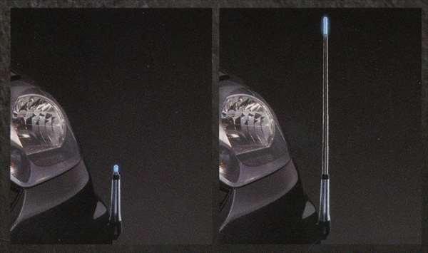 『プレオ+』 純正 LA300F フェンダーコントロール(マニュアル) パーツ スバル純正部品 フェンダーランプ フェンダーポール フェンダーライト PLEO オプション アクセサリー 用品