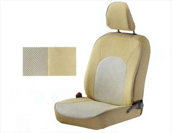 『プレオ+』 純正 LA300F フルシートカバー(アイボリー) 4席分 パーツ スバル純正部品 座席カバー 汚れ シート保護 PLEO オプション アクセサリー 用品