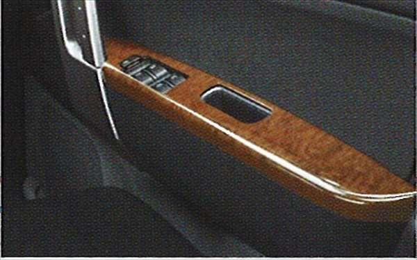 『ビーゴ』 純正 J200 J210 ウッド調ドアアームレストパネル パーツ ダイハツ純正部品 be-go オプション アクセサリー 用品