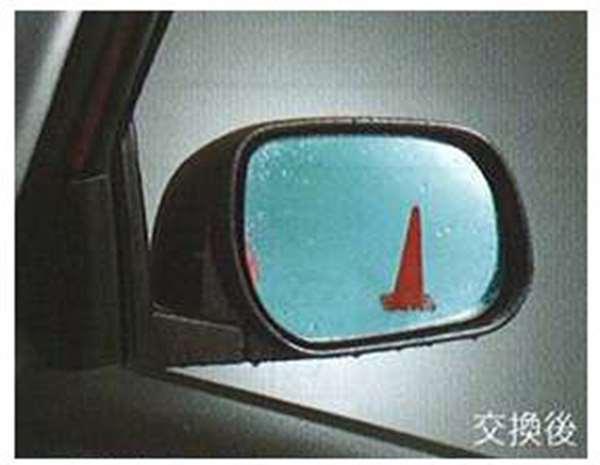 『ビーゴ』 純正 J200 J210 レインクリアリングミラー(ブルー) パーツ ダイハツ純正部品 親水性 ドアミラー 視界雨 be-go オプション アクセサリー 用品