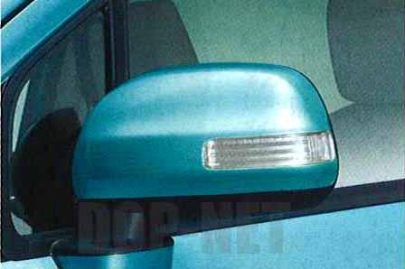 『ブーンルミナス』 純正 M502G M512G 電動格納式ドアミラーセット(ターンランプ付) パーツ ダイハツ純正部品 ドアミラーカバー サイドミラーカバー カスタム boonluminas オプション アクセサリー 用品