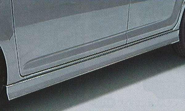 『ブーン』 純正 M300 M301 M312 サイドストーンガード(車体色対応) パーツ ダイハツ純正部品 サイドスポイラー カスタム マッドガード boon オプション アクセサリー 用品