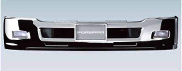 『フォワード』 純正 FRR90S2 メッキエアダム一体式バンパー バンパーヘッドランプ用 大型ナンバープレート用 ※FSS/FTS高床車の設定はありません。 パーツ いすゞ純正部品 オプション アクセサリー 用品
