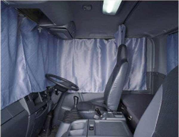 『フォワード』 純正 FRR90S2 カーテン ラウンド部のみ ※仕切り、バック部は別売 パーツ いすゞ純正部品 オプション アクセサリー 用品