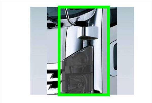 『フォワード』 純正 FRR90S2 メッキサイドパネル 右側 パーツ いすゞ純正部品 メッキ オプション アクセサリー 用品