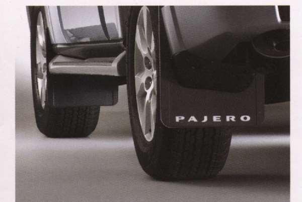 『パジェロ』 純正 V98W V97W V93W マッドフラップ パーツ 三菱純正部品 PAJERO オプション アクセサリー 用品