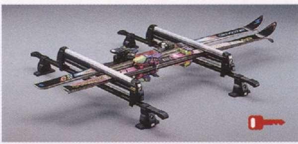 『パジェロ』 純正 V98W V97W V93W スキー&スノーボードアタッチメント(平積みアルミロング) パーツ 三菱純正部品 キャリア別売りキャリア別売り PAJERO オプション アクセサリー 用品
