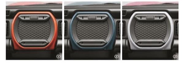 『ハスラー』 純正 MR52S インパネアッパーボックスセット パーツ スズキ純正部品 オプション アクセサリー 用品