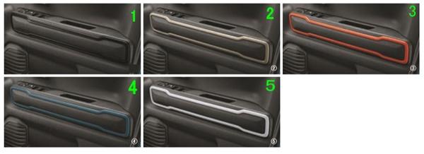 『ハスラー』 純正 MR52S ドアトリムガーニッシュ パーツ スズキ純正部品 オプション アクセサリー 用品