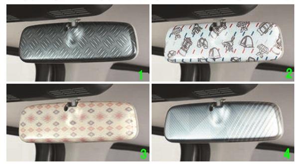 ハスラー 市場 選択 純正 MR52S ルームミラーカバー パーツ オプション アクセサリー スズキ純正部品 用品