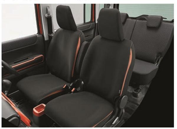 『ハスラー』 純正 MR52S 防水シートカバー パーツ スズキ純正部品 座席カバー 汚れ シート保護 オプション アクセサリー 用品