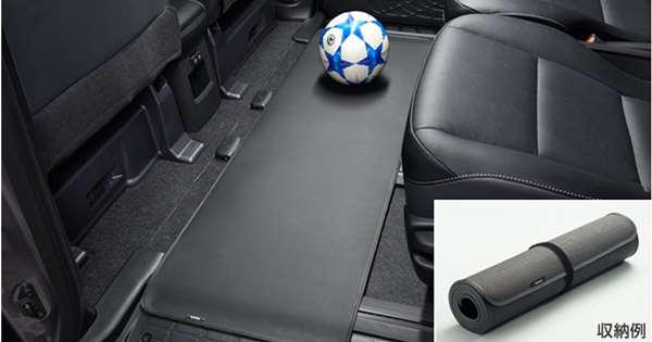 『エスクァイア』 純正 ZWR80G ZRR80G セカンドシートアンダーマット パーツ トヨタ純正部品 オプション アクセサリー 用品