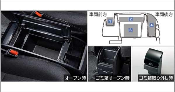 【エスクァイア】純正 ZWR80G ZRR80G コンソールボックス パーツ トヨタ純正部品 オプション アクセサリー 用品