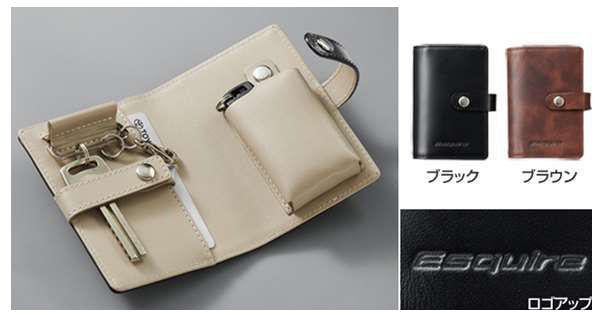 『エスクァイア』 純正 ZWR80G ZRR80G 本革キーケース パーツ トヨタ純正部品 キーカバー リモコンケース オプション アクセサリー 用品