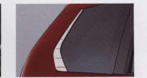 『MPV』 純正 LY3P クオーターウインドーガーニッシュ 左右セット パーツ マツダ純正部品 オプション アクセサリー 用品