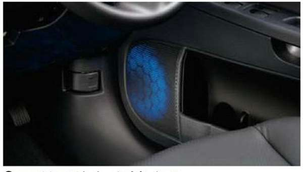 『ギャランフォルティス』 純正 CY4A フロントドアスピーカーイルミネーション パーツ 三菱純正部品 GALANTFORTIS オプション アクセサリー 用品