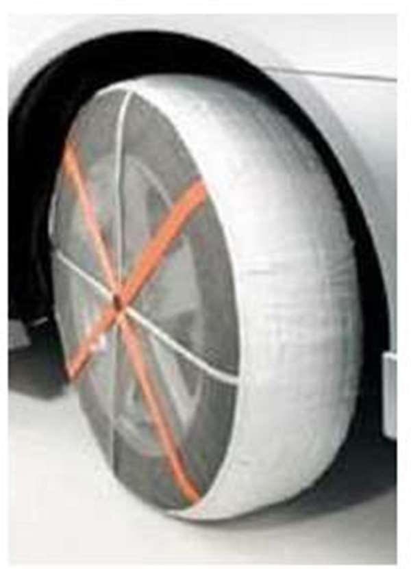 『ギャランフォルティス』 純正 CY4A 簡易タイヤ滑り止め「オートソック」 パーツ 三菱純正部品 雪 凍結 スノー GALANTFORTIS オプション アクセサリー 用品