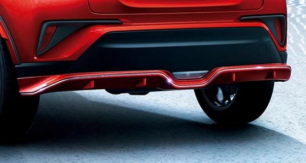 『C-HR』 純正 ZYX11 NGX10 NGX50 リヤバンパーガーニッシュ パーツ トヨタ純正部品 エアロパーツ パネル カスタム オプション アクセサリー 用品