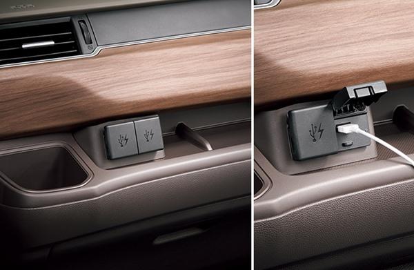 『フリード』 純正 GB7 GB8 GB5 GB6 USBチャージャー フロント用/2口/5V/各最大2.1A パーツ ホンダ純正部品 オプション アクセサリー 用品