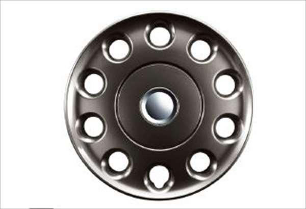 『ハイゼットキャディー』 純正 LA700V LA710V フルホイールキャップ 14インチ(ガンメタ) 1台分4枚セット パーツ ダイハツ純正部品 ホイールカバー hijetcaddie オプション アクセサリー 用品