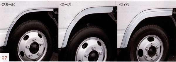 『NT450アトラス』 純正 FBA5W メッキフェンダー(左右セット) 標準キャブ車用 パーツ 日産純正部品 オプション アクセサリー 用品